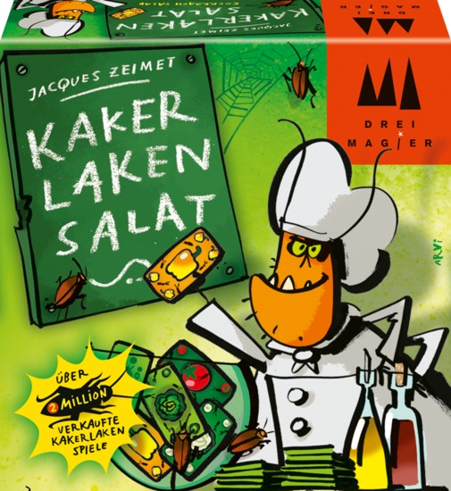 Kakerlaken-Salat -- via Amazon Partnerprogramm