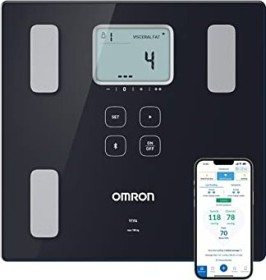 Omron HBF-222T-EBK electronic body analyser scale