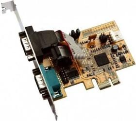 Exsys EX-44072, 2x seriell, PCIe 2.0 x1