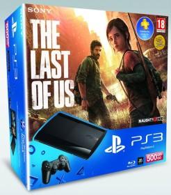 Sony PlayStation 3 Super Slim - 500GB The Last of Us Bundle schwarz