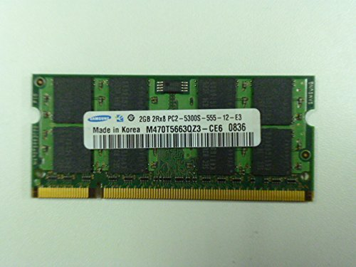 Samsung SO-DIMM 2GB, DDR2-667, CL6 (M470T5663QZ3-CE6)