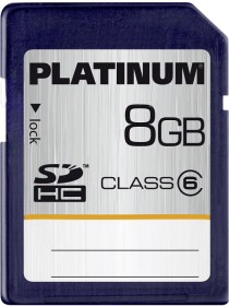 BestMedia Platinum R18 SDHC 8GB, Class 6 (177112)