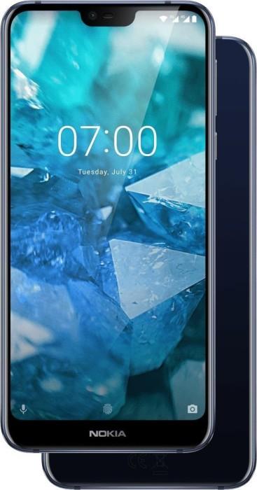 Nokia 7.1 Dual-SIM 32GB blau