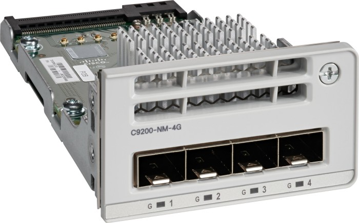 Cisco Catalyst 9200 switch module, 4x SFP (C9200-NM-4G) from £ 375 32