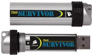 Corsair Flash Survivor 64GB, USB-A 2.0 (CMFUSBSRVR-64GB)