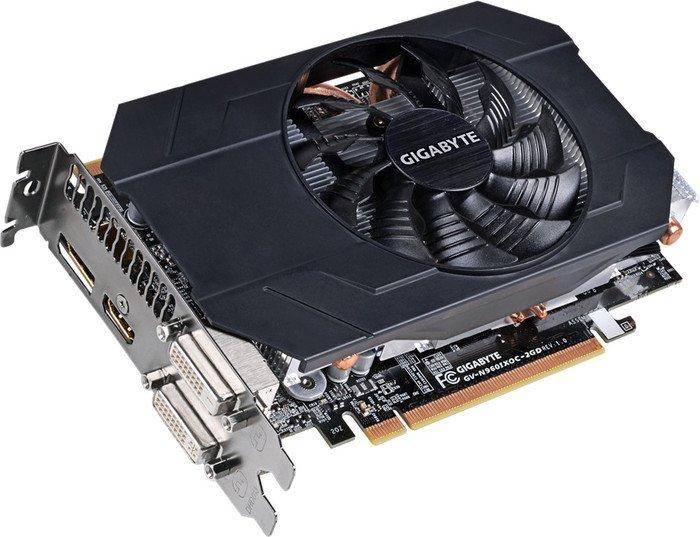 Gigabyte GeForce GTX 960 Mini OC, 2GB GDDR5, 2x DVI, HDMI, DP (GV-N960IXOC-2GD)