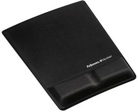 Fellowes Health-V mousepad with wrist rest black (9181201)