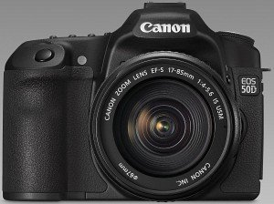 Canon EOS 50D black with lens EF-S 17-85mm 4.0-5.6 IS USM (2807B029)