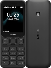 Nokia 125 Single-SIM schwarz