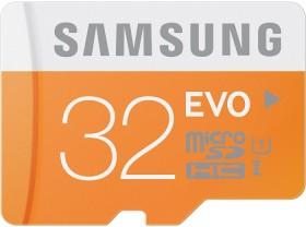 Samsung EVO R48 microSDHC 32GB, UHS-I, Class 10 (MB-MP32D/EU)