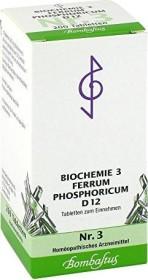 Bombastus Biochemie nach Schüßler Nr. 3 D12 Tabletten, 200 Stück