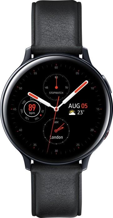 Samsung Galaxy Watch Active 2 LTE R825 Edelstahl 44mm schwarz