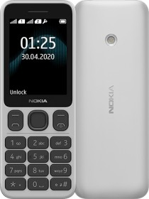 Nokia 125 Single-SIM weiß