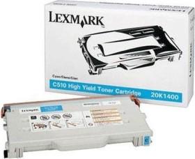 Lexmark Toner 20K1400 cyan