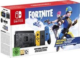 Nintendo Switch Fortnite Special Edition Bundle schwarz/gelb/blau