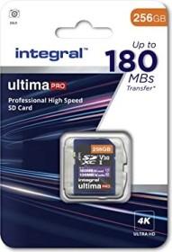 Integral ultima PRO R180/W130 SDXC 256GB, UHS-I U3, Class 10 (INSDX256G-180V30)