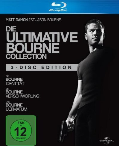 Die Bourne Box (Blu-ray) -- via Amazon Partnerprogramm