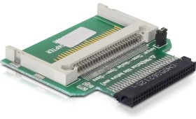 "DeLOCK Konverter 1.8"" IDE > CF Single-Slot-Cardreader, IDE 50-Pin [Buchse] (91479)"
