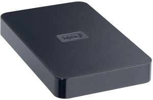 Western Digital Elements portable New black 250GB, USB 2.0 (WDBAAR2500ABK)