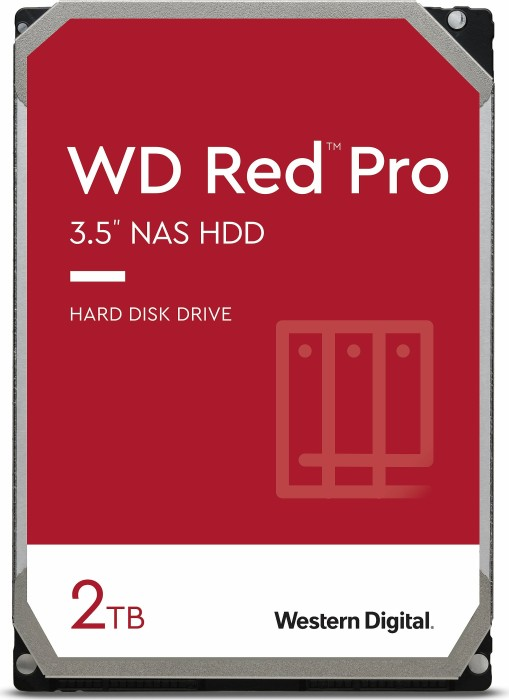 """Western Digital WD Red Pro 2TB, 3.5"""", SATA 6Gb/s (WD2002FFSX)"""