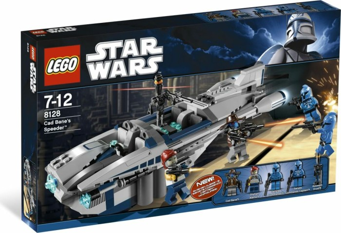 LEGO - Star Wars clone Wars - Cad Bane's Speeder (8128) -- via Amazon Partnerprogramm