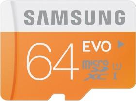 Samsung EVO R48 microSDXC 64GB, UHS-I, Class 10 (MB-MP64D/EU)