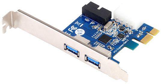 SilverStone SST-EC04-P, 4x USB 3.0, PCIe 2.0 x1
