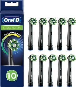 Oral-B Aufsteckbürsten CrossAction CleanMaximiser schwarz, 10er-Pack