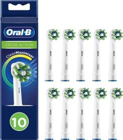 Oral-B Aufsteckbürsten CrossAction CleanMaximiser weiß, 10er-Pack