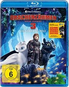 Drachenzähmen leicht gemacht 3: Die geheime Welt (Blu-ray)