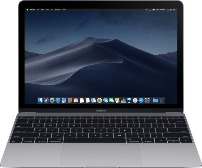Apple MacBook 12, Core m5-6Y54, 512GB SSD, grau (MLH82D/A / Z0SL) [Early 2016]