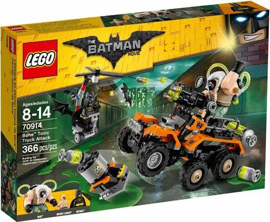 LEGO The Batman Movie - Bane Toxic Truck Attack (70914)