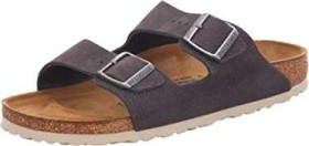 Birkenstock Arizona Nubukleder steer soft grey (Herren) (1015500/1015501)