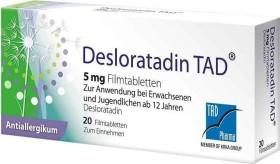 Desloratadin TAD Filmtabletten, 20 Stück