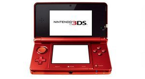 Nintendo 3DS Basic unit, red/black