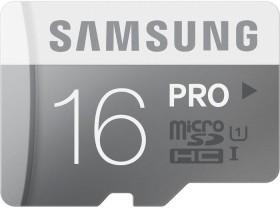 Samsung PRO R90/W50 microSDHC 16GB, UHS-I, Class 10 (MB-MG16D/EU)
