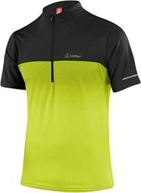 Löffler Bike Half-Zip Flow Shirt kurzarm light green (Herren) (22451-330)