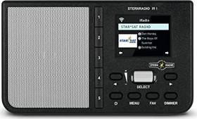 TechniSat Sternradio IR1 schwarz (0000/3960)