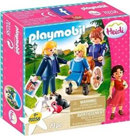 playmobil Heidi - Clara mit Vater und Fräulein Rottenmeier (70258)