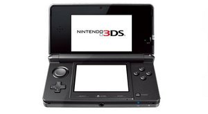 Nintendo 3DS Basic unit, black (DS)