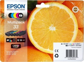 Epson ink 33 multipack (C13T33374010)
