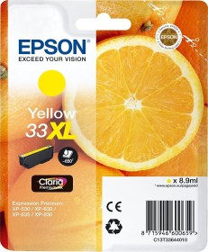 Epson Tinte 33XL gelb (C13T33644010)
