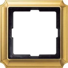 Merten ANTIK Rahmen 1fach, blankmessing (483121)