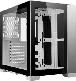 Lian Li PC-O11 Dynamic Mini, weiß/schwarz, Glasfenster (O11D MINI-W)