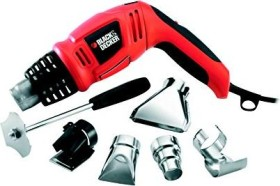 Black&Decker KX1693 electric heat gun incl. case