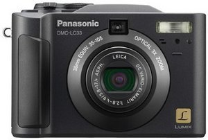 Panasonic Lumix DMC-LC33 black