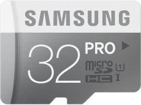 Samsung PRO R90/W50 microSDHC 32GB, UHS-I, Class 10 (MB-MG32D/EU)