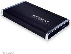 "Akasa Integral P2NES schwarz, 2.5"", USB-A 2.0/eSATA (AK-ENP2NES-BK)"
