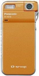 Panasonic D-Snap SV-AS10 pomarańczowy