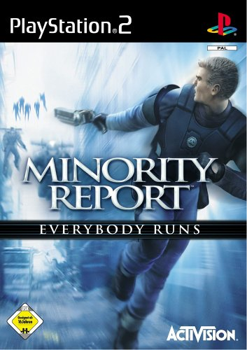 Minority Report (niemiecki) (PS2) -- via Amazon Partnerprogramm